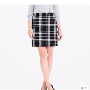 JCrew Plaid Mini Skirt